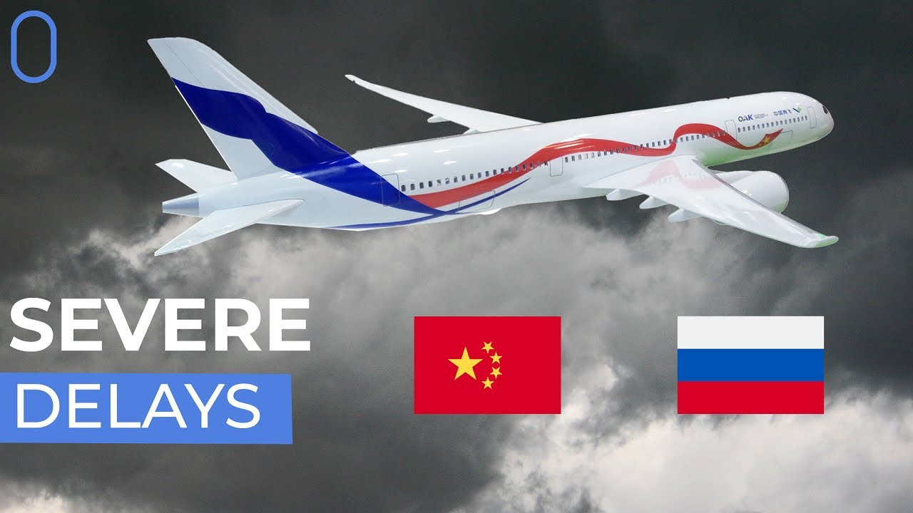 Russia And China's Boeing 787 Alternative: The CR929 Hits Turbulence