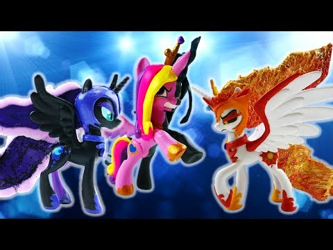 Compilation MLP Princess Villains Split Pony Daybreaker Nightmare Luna Queen Chrysalis