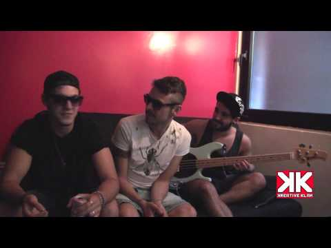 Sharks In Your Mouth - Exclusive 'Sofa Interview' @ Kreative Klan Studio