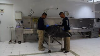 Forensic scientists work to identify victims in Mexico
