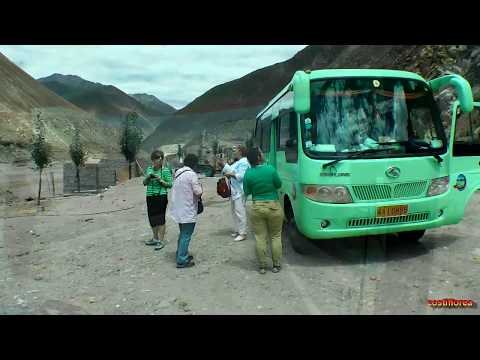 Friendship Highway,Lhasa to Kathmandu by bus part1-Trip to Nepal,Tibet,India part 9-Travel video HD