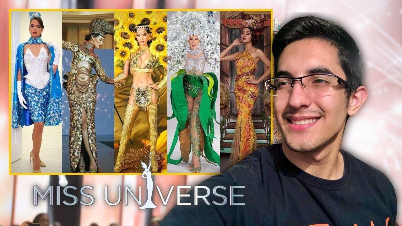 TRAJES TÍPICOS RUMBO MISS UNIVERSO 2020 - parte 2