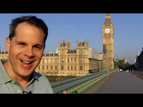 Paul Martinelli In Front of Big Ben