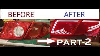 Chevrolet Lacetti Led Stop Nasıl Yapılır // How To Make Chevrolet Lacetti Led Tail Light (Part-2)