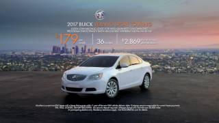 $0 Down - 2017 Buick Verano Sport Touring February Lease Special
