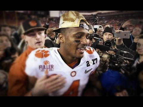 Deshaun Watson Ultimate Clemson Highlights - Clutch