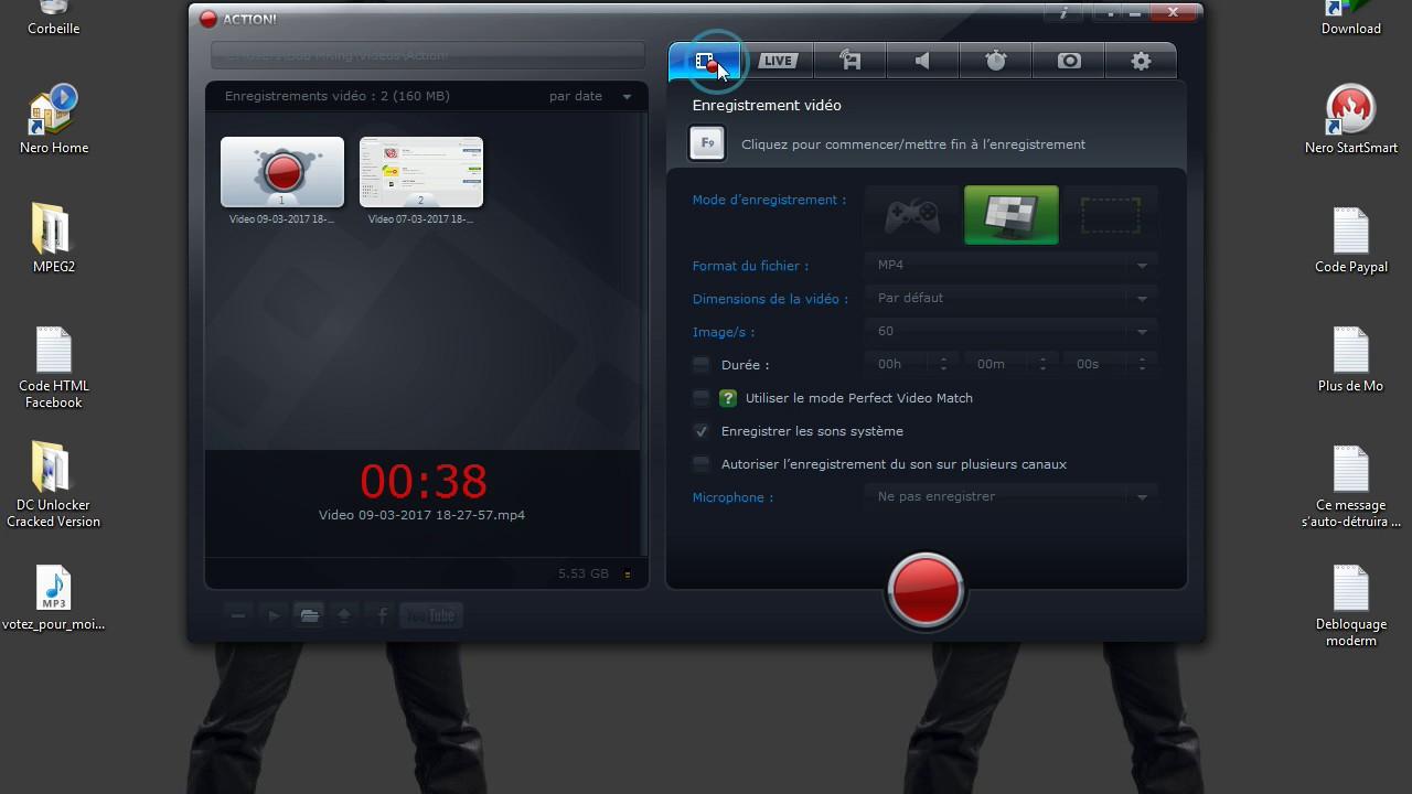 tuto  le meilleur logiciel de record sur pc action