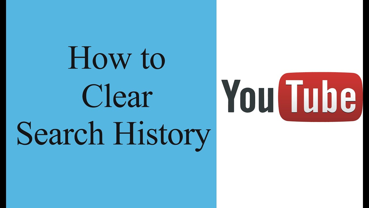 How To Clear Youtube Search History  How To Delete Youtube History In Your  Youtube Account