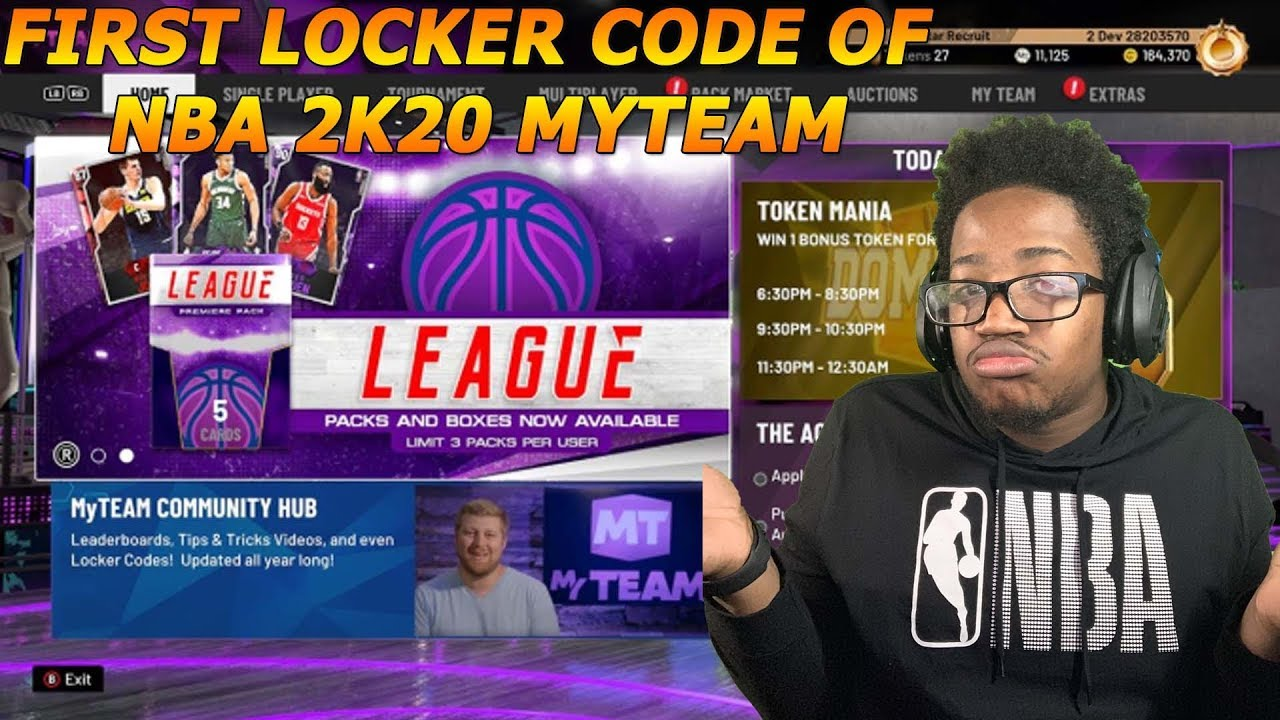 Nba locker codes 2k20