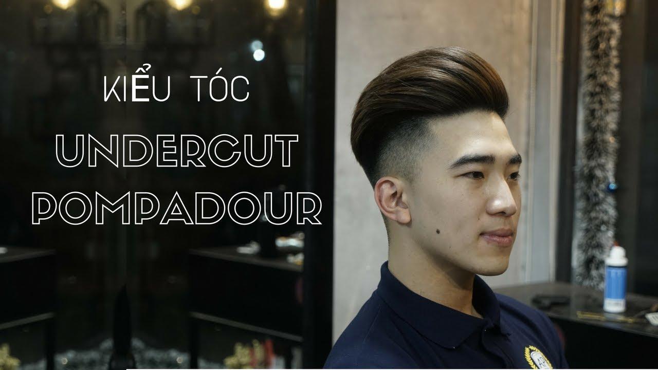 Undercut Pompadour Haircut I Summer Hairstyle I Kiểu tóc Undercut Pompadour