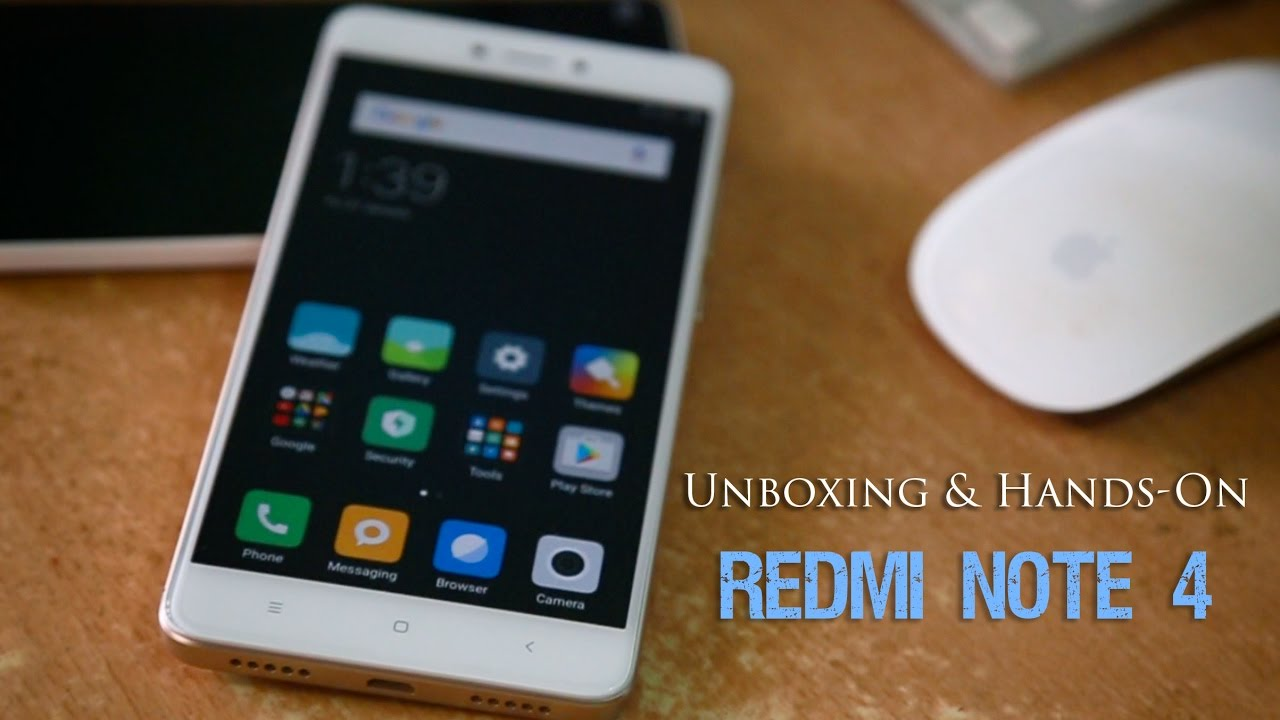 Redmi Note 4 Unboxing: Snapdragon 625 - YouTube