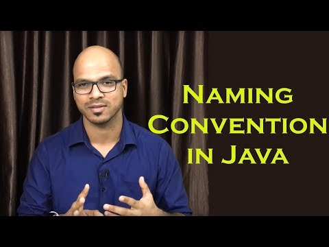 2.4 Naming Convention in Java
