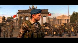 World In Conflict - Soviet Assault End of first level cinematic