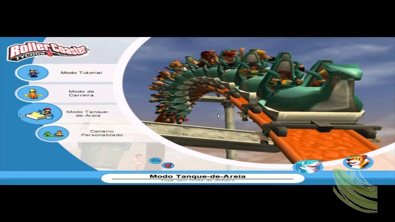 Download RollerCoaster Tycoon 3 Platinum [Full HD] 720p 1080p