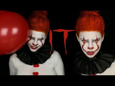 Halloween Sminkningar Clown.Pennywise The Dancing Clown It Halloweensminkning