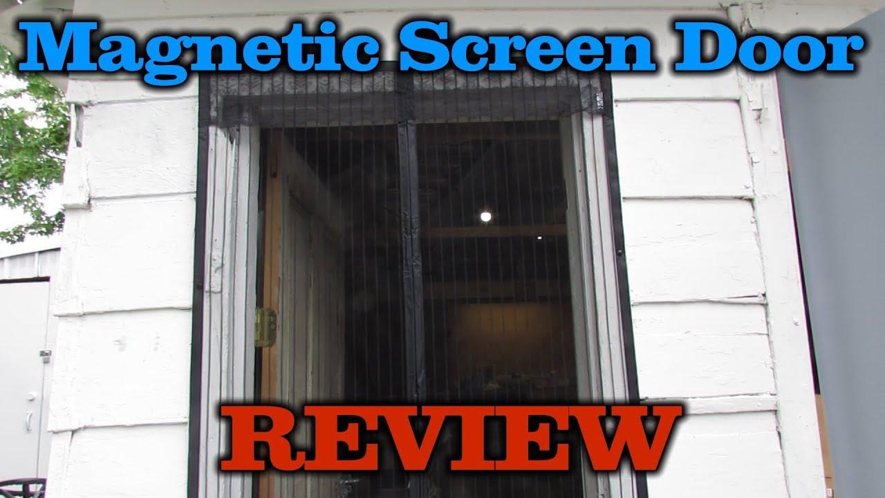 Magnetic screen door review giveaway youtube magnetic screen door review giveaway vtopaller Images