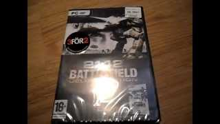 Unboxing: Battlefield 2142 - Deluxe Edition
