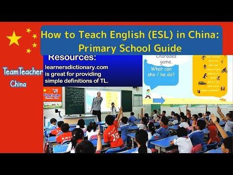 Lesson Plan Breakdown for Teaching English in Chinese Public School, Shenzhen 深圳 , China 中国, ESL 老师