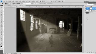 Creating Realistic Sun Rays in Photshop - Video Tutorial