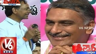 kcr about harish rao