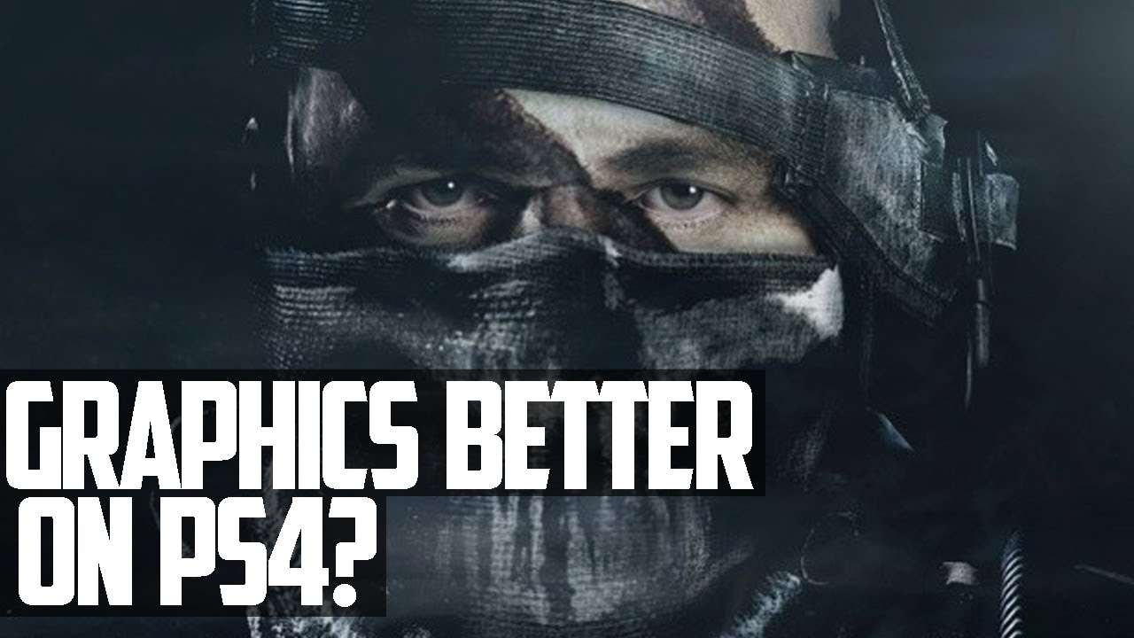 Call of Duty Ghosts - BEST GRAPHICS ON PS4? XBOX ONE LIMIT ...