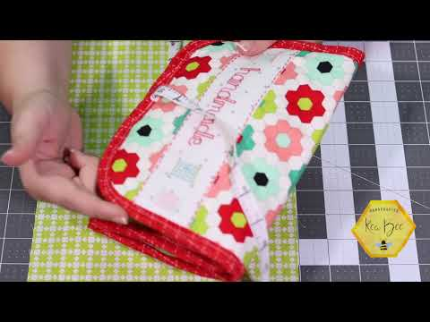 Stitch Lovely Things Quilted Sewing Organizer