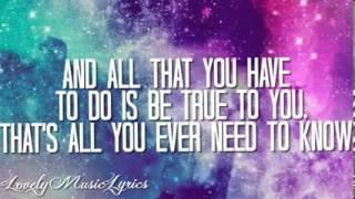 Mika ft Ariana Grande Popular Song Lyrics Video)