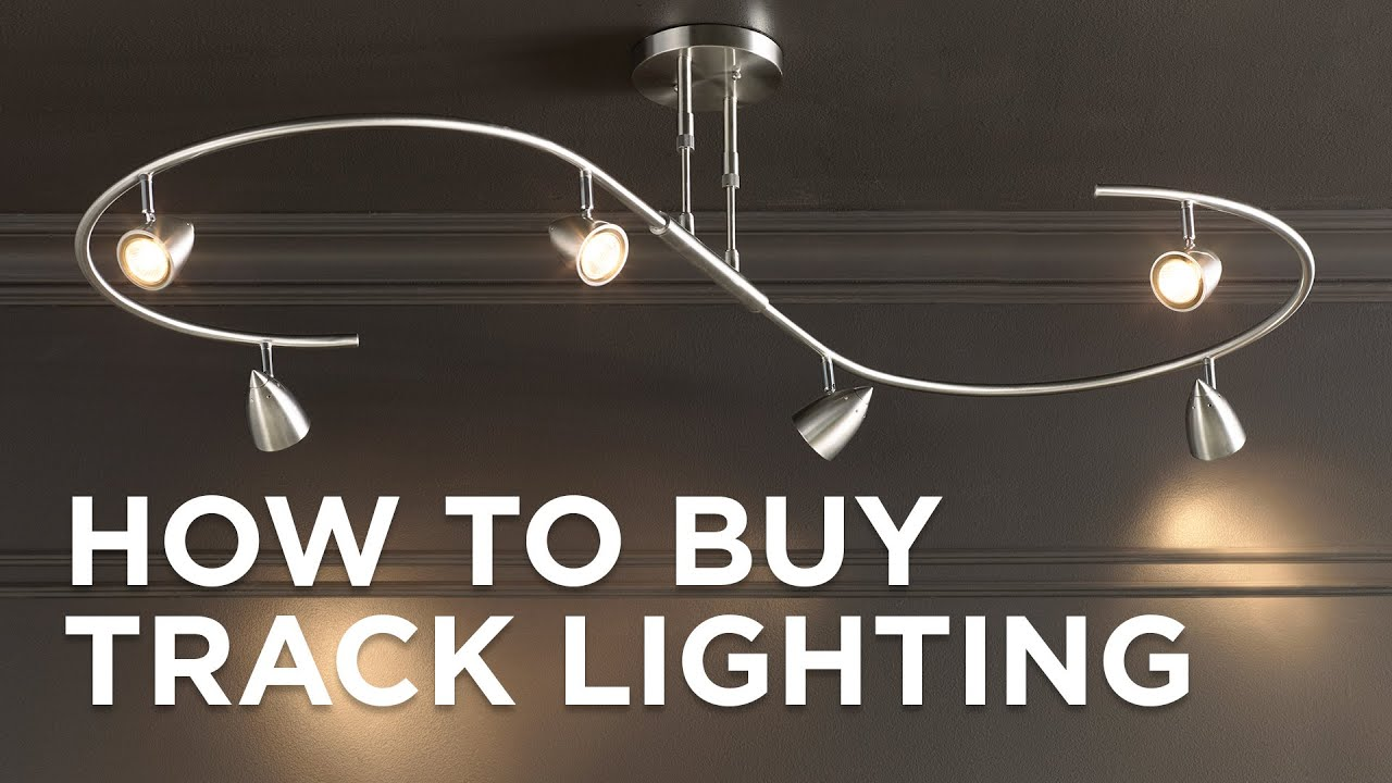 how to buy track lighting buying guide