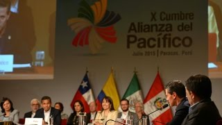 Ceremonia de Inauguración de la X Cumbre de la Alianza del Pacífico