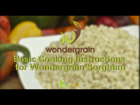Basic Cooking Instructions for Wondergrain Sorghum [English]