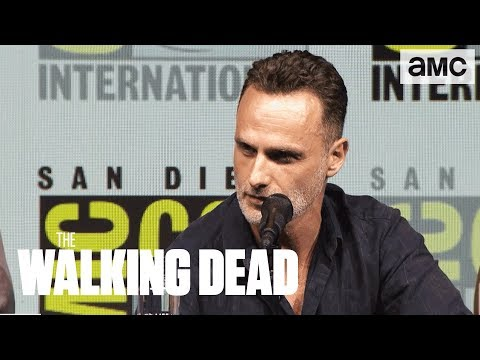 The Walking Dead: 'Andrew Lincoln on His Final Season' ComicCon 2018 Panel Highlights