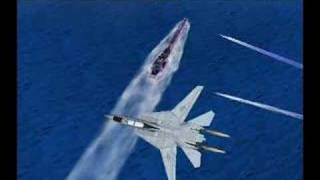 Aero fighter Assault Hawk Pacific ocean
