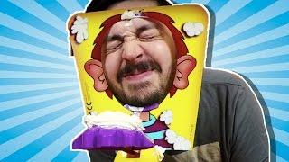 Bol Kremalı PIE FACE Kapışması - Eğlenceli Parti Oyunu