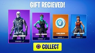 Live Gifting Free Skins - Fortnite Live Stream PS4! (Loot Lake Event Right Now)
