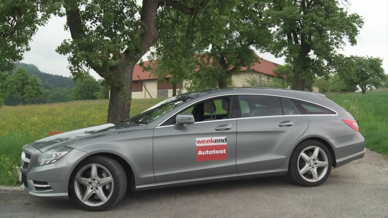 mercedes cls 500 shooting brake weekend magazin autotest. Black Bedroom Furniture Sets. Home Design Ideas