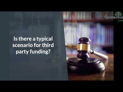 Third Party Funding and insolvency cases.