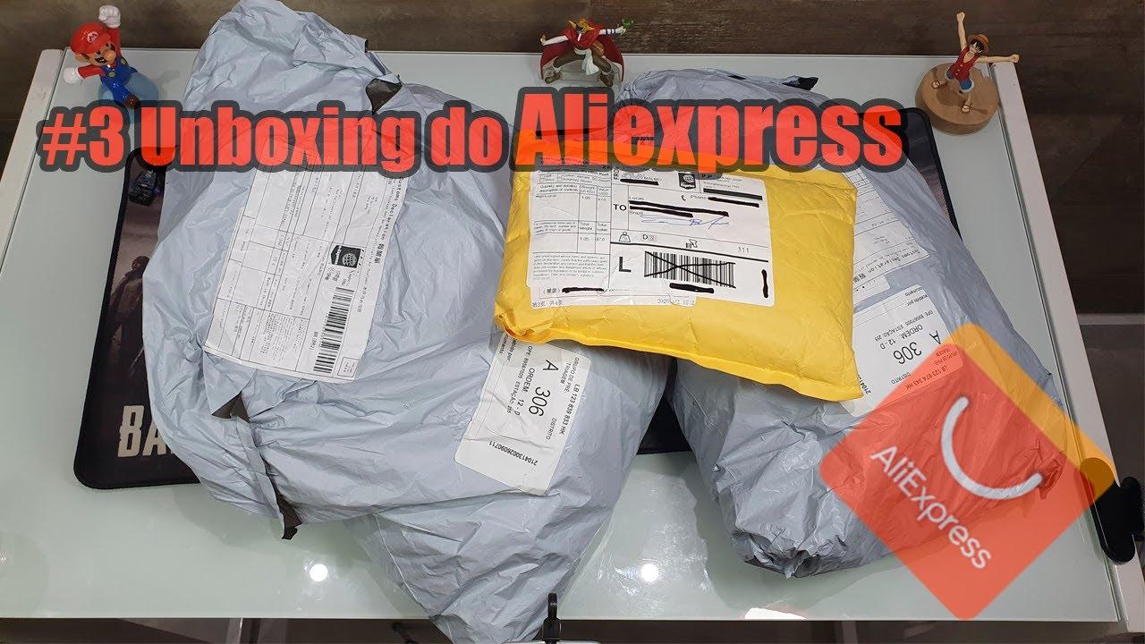 Unboxing #3 - Produtos importados do Aliexpress com entrega super rápida!