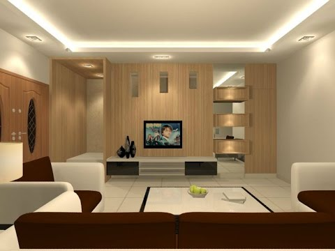 Interior design ideas in hall youtube for Hall design for small house