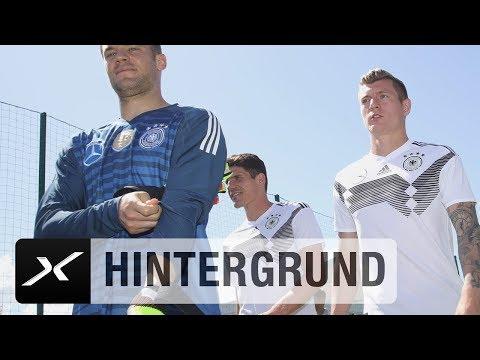 Alle an Bord! Toni Kroos und Jerome Boateng trainieren mit | DFB-Team | WM 2018 | SPOX