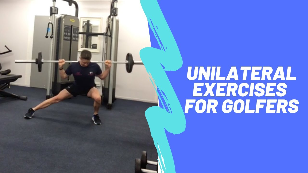 Unilateral Strength Training For Golfers