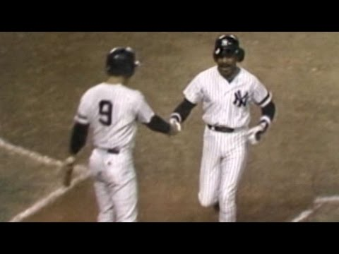 1981 ALDS Gm5: Gamble's homer gives Yanks lead