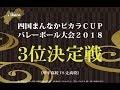 四国まんなかピカラカップバレーボール大会2018 3位決定戦