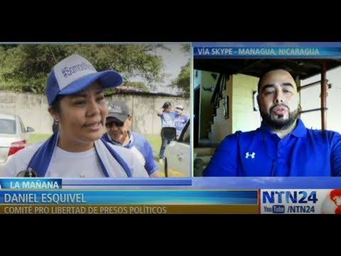 """""""Nicaragua está en un momento sociopolítico donde si usted protesta inmediatamente es detenido"""""""
