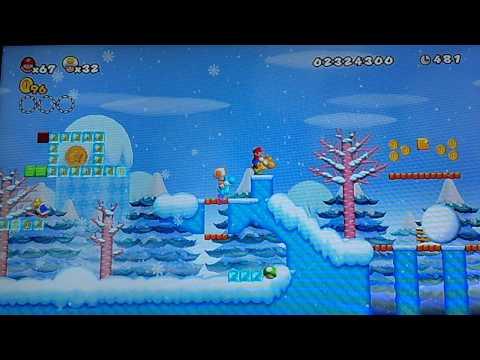 Newer Super Mario Bros Wii Co-op (World 5) 1/2 Part 9