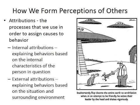 Class 7   Social Perception and Attraction Part 1
