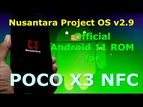 Nusantara Project OS v2.9 Official for Poco X3 NFC (Surya) Android 11