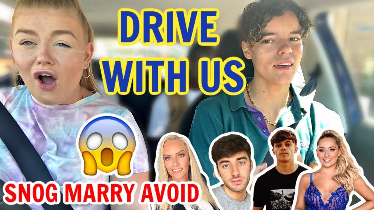DRIVE with ME and JACOB WHITE.. GONE WRONG.. | Lucy Flight