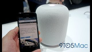 WWDC '17: Apple HomePod first look