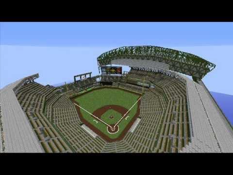 Minecraft MLB Seattle Mariners Safeco Field YouTube