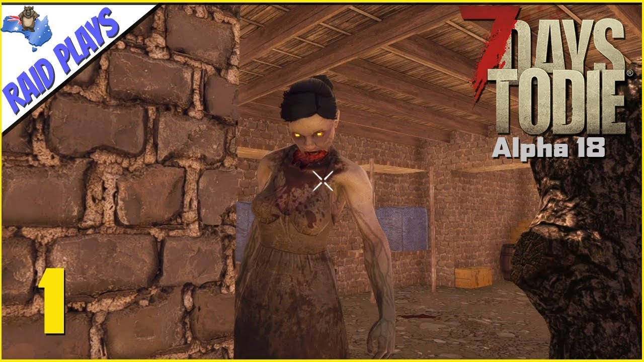 7 Days To Die Alpha 18 Ep 1 Alpha 18 Stable Let S Play